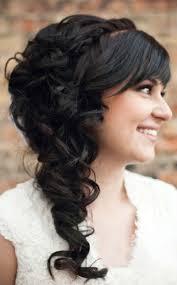 Hochsteckfrisurenen Lange Haare Seitlich by Hochzeitsfrisur Lange Haare Romantisch Seitlich Schwarz Schoen