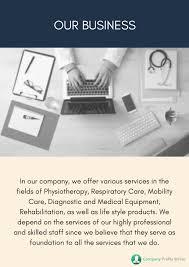 company profile writing medical company profile sample album on imgur