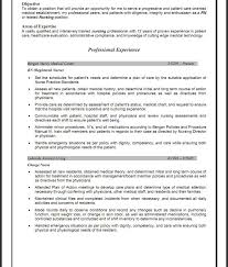 exles of resumes for nurses sle resume for nursing format resumes and cover letters of