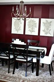Burgundy Wall Decor Best Walls Ideas Painted Dining Room And