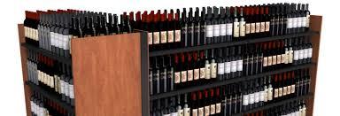 commercial wine racks retail wine display liquor storage