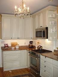 kitchen with beadboard backsplash and butcher block counters it