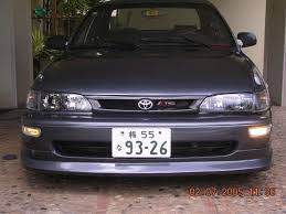 1996 toyota corolla front bumper willyjdm 1997 toyota corolla specs photos modification info at