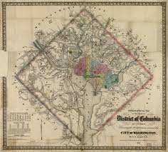 Map Of Washington Dc by Civil War Era Map Of Washington D C From Http Ghostsofdc Org