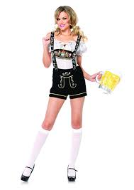 amazon women s halloween costumes amazon com leg avenue women u0027s oktoberfest lederhosen costume