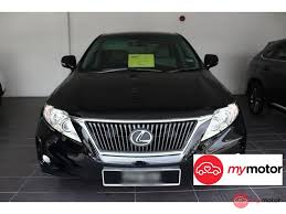 lexus suv 2015 price in malaysia 2012 lexus rx for sale in malaysia for rm220 800 mymotor