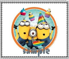 minions cake toppers twelve 2 despicable me 2 minions edible image cupcake