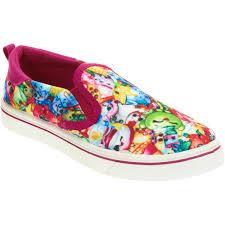 shopkins girls u0027 casual slip on shoe walmart com