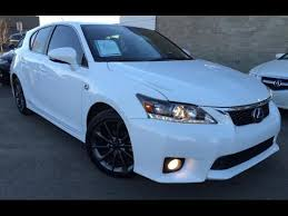 lexus ct f sport review used ultra white 2013 lexus ct 200h fwd hybrid f sport review