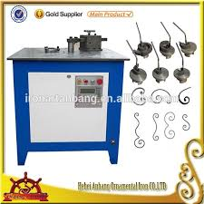 electric scroll bending machine wrought iron machine electric