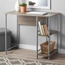 A Frame Computer Desk by Mainstays Basic Student Desk Multiple Colors Walmart Com