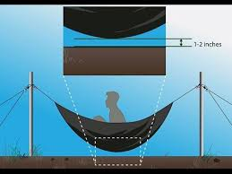 set up a hammock without trees how to youtube
