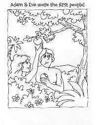 beautiful adam and eve coloring page 43 on free colouring pages