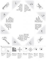 templates wedding menu template pdf plus bridal shower templates