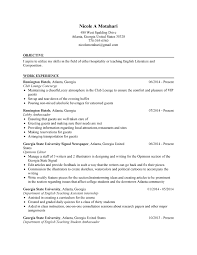 Resume English Example by Resume Examples For English Majors Resume Ixiplay Free Resume