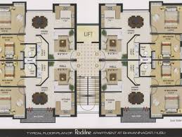 Apartment Building Floor Plan by Marvellous Bedroom Apartmenthouse Plans Apartment Floors Living
