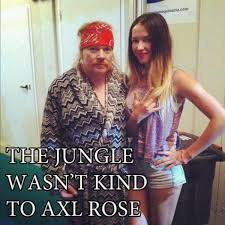 Axl Rose Meme Cake - sing along with fat axl rose presented by warf