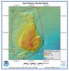 Map Of Outer Banks Flower Garden Banks National Marine Sanctuary Maps