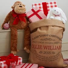 babys first christmas sack u2014 harrow u0026 green