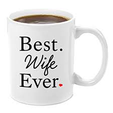 wife gift ideas amazon com best wife ever premium 11oz coffee mug set wife