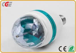 mini led light bulbs china led lighting bulbs led full color rotating ls 3w 5w e27 b22
