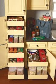 kitchen cabinets that store more slot storage and cookie sheets
