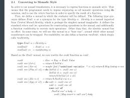 Haskell Map Haskell Desugaring Rule For Case Expression Within A Do Block