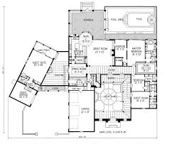 spanish style homes plans plan 1 1119 spanish style home with a living s f of 5511 8764
