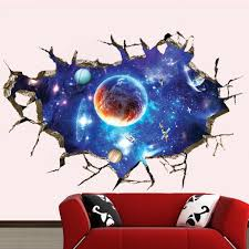 Diy Ceiling Ls 3d Universe Celestial Ceiling Diy Wall Stickers Pvc Wall