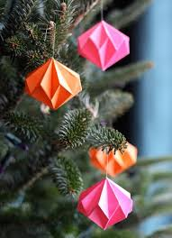 origami ornaments apartment therapy