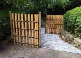 fence stunning bamboo fence 15 awesome diy lawn fencing ideas
