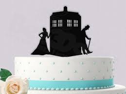 tardis cake topper dr who 11th doctor inspired wedding cake topper 2433129 weddbook