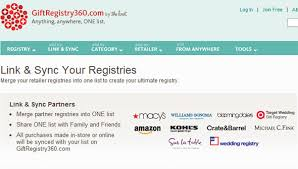 wedding gift registry list 6 excellent wedding registry websites