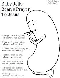 baby jelly bean prayer
