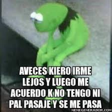 Memes Rana Rene - cuenta la leyenda este es el primer meme en espa祓ol de la rana
