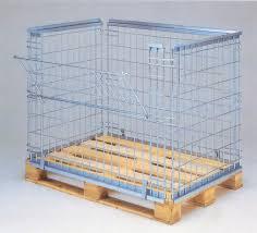 rete metallica per gabbie roll container e contenitori metallici produzione e vendita