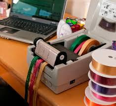 personalized ribbon printing ribbon printing machine easily print ribbons at once