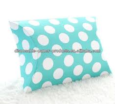 robin egg blue gift boxes robin egg blue polka dot pillow boxes spots dots wedding pillow