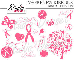 awareness ribbon clipart breast cancer ribbons pink tree