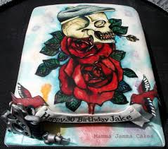 12 tattoo inspired cakes