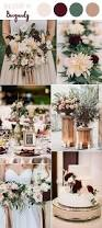 10 perfect fall wedding color combos steal 2017