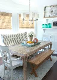 coastal dining rooms dining room mesmerizing coastal dining rooms with wooden bench