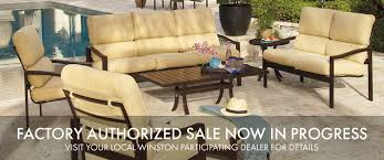 Outdoor Patio Furniture Sales Outdoor Patio Furniture Dining Sets Tables Chairs Winston