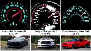chevy camaro vs dodge charger mustang vs charger vs camaro 0 60 140 mph showdown