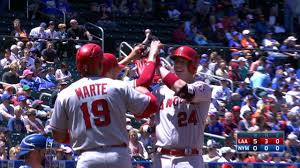 Mlb Fan Map Angels Hit 4 Home Runs In Rout Of Mets Mlb Com