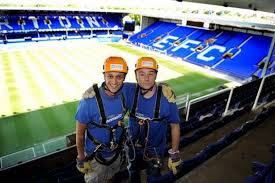 Top Balcony Goodison Park by Goodison Park Charity Zip Slide For Liverpool Unites U0027 Alder Hey