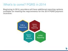pqrs registries pqrs claims based reporting in 2013