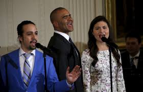 House M D Cast by Cast Of Hit Broadway Musical Hamilton Perform For The Obamas At
