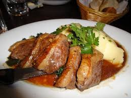 cuisiner un filet de canard magret de canard picture of le garrick brasserie restaurant