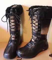 s ugg australia adirondack boots ugg australia size 9 5 s adirondack boots black style